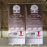 roll up display for sale