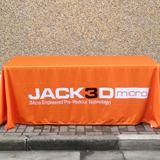 trade show 6ft tablecloths