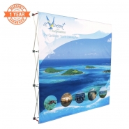 3X3 Straight Pop up display kits